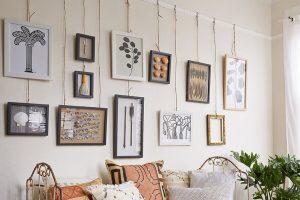 How to Hang Art Work
