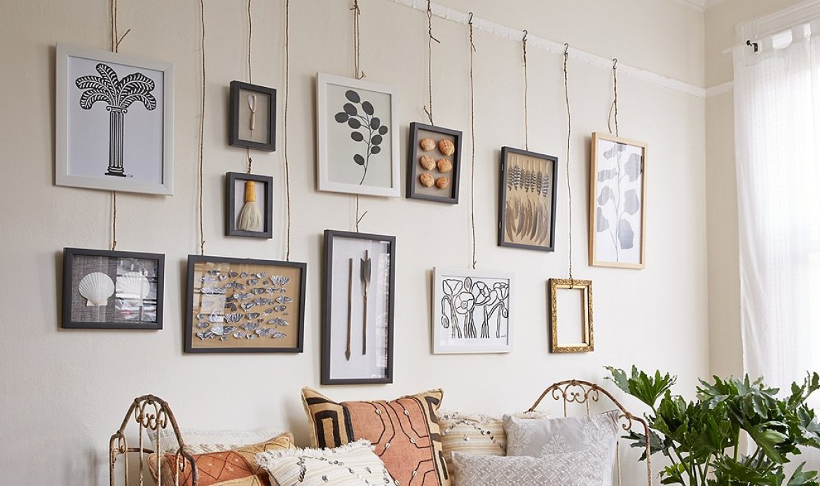 How To Hang Art Work Dimensions Thru